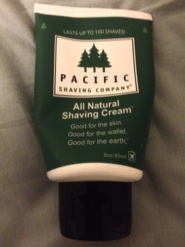 Here's the Men's Shaving Cream... awesome shave!