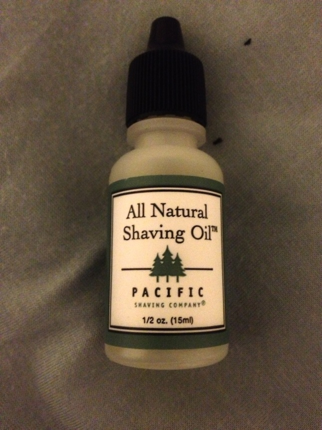 Shaving Oil.. If you've never tried it, go for it! It's really great!